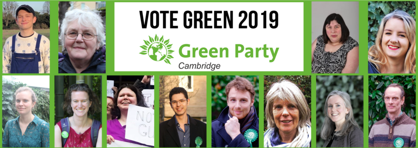 Green candidates in every ward for 2019 local elections
