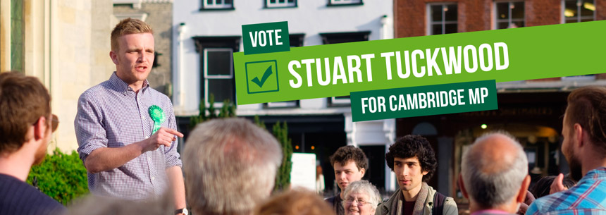 Stuart Tuckwood for Cambridge MP